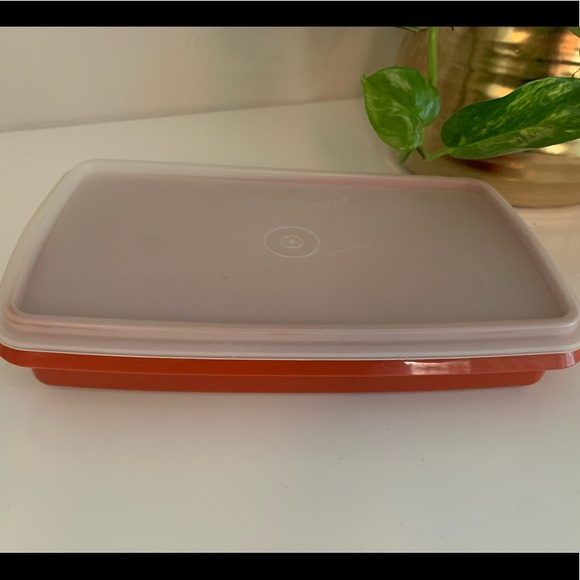 Tupperware Other - Vintage Tupperware Red Rectangle storage